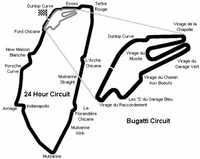 circuit bugatti le mans pistes et circuits sport moto chrono ou freestyle forum motos. Black Bedroom Furniture Sets. Home Design Ideas